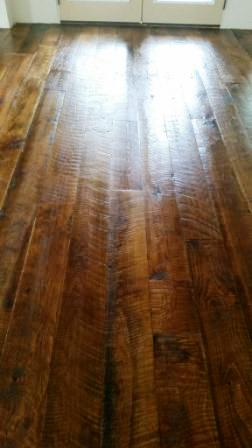 Reclaimed Circle Sawn White Oak Flooring